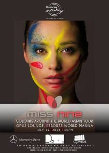 Miss Nine - Colours Around the World Asian Tour