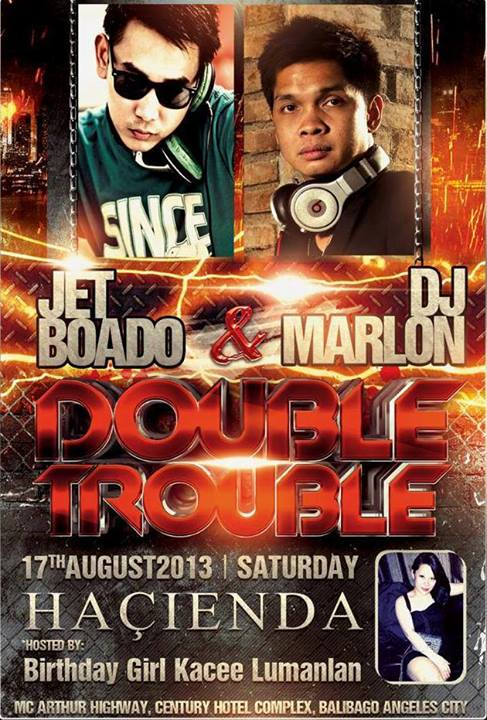 Hacienda Superclub presents DOUBLE TROUBLE