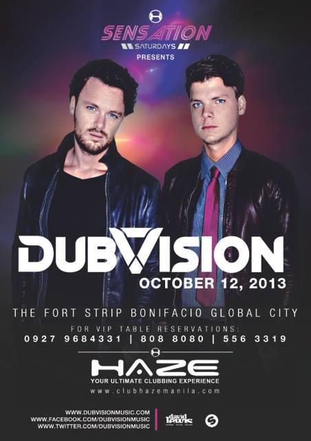 DubVision: Oct. 12 at Club Haze