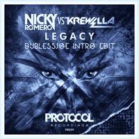Nicky Romero Vs. Krewella - Legacy (Save My Life) (DublessJoe Intro Edit)