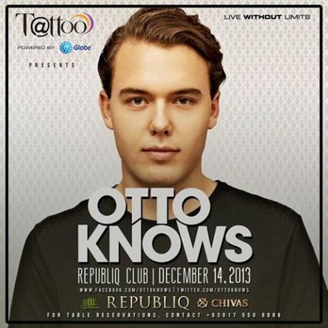 Otto Knows: Dec. 14 at Republiq