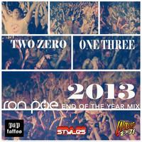 DJ Ron Poe: Two Zero One Three (End Of The Year Mix 2013)