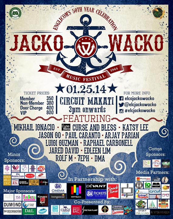ELC's 50th: Jacko Wacko Music Festival