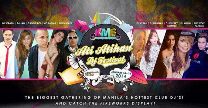 KALIBO MUSIC FEST/ ATIATIHAN DJ FESTIVAL/ ATIATIHAN WONDERLAND