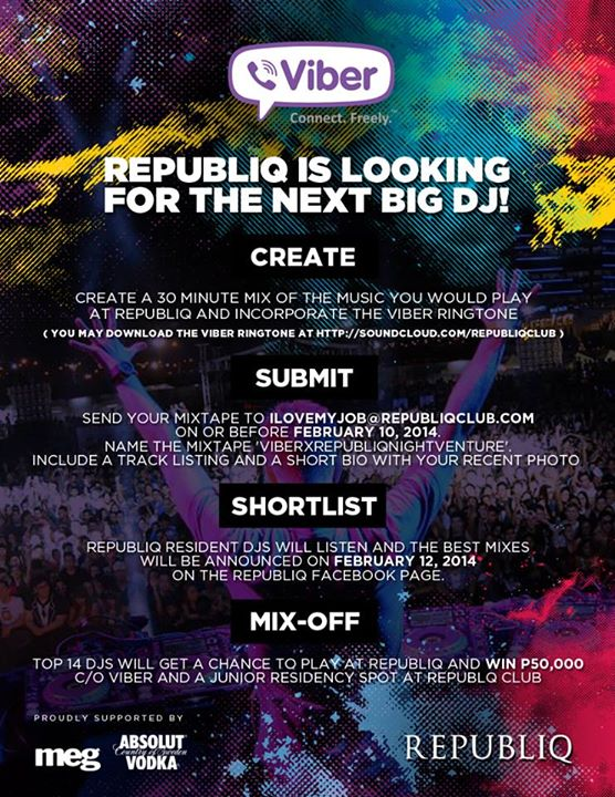 Republiq Night Venture (DJs)