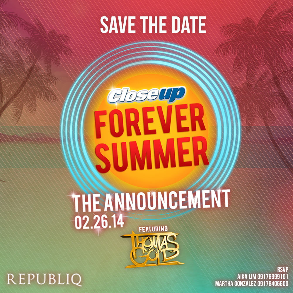 2014 Close Up Summer Forever