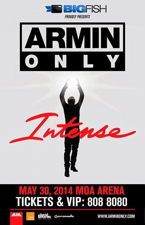 ARMIN VAN BUUREN LIVE IN MANILA 2014 / ARMIN ONLY INTENSE TOUR