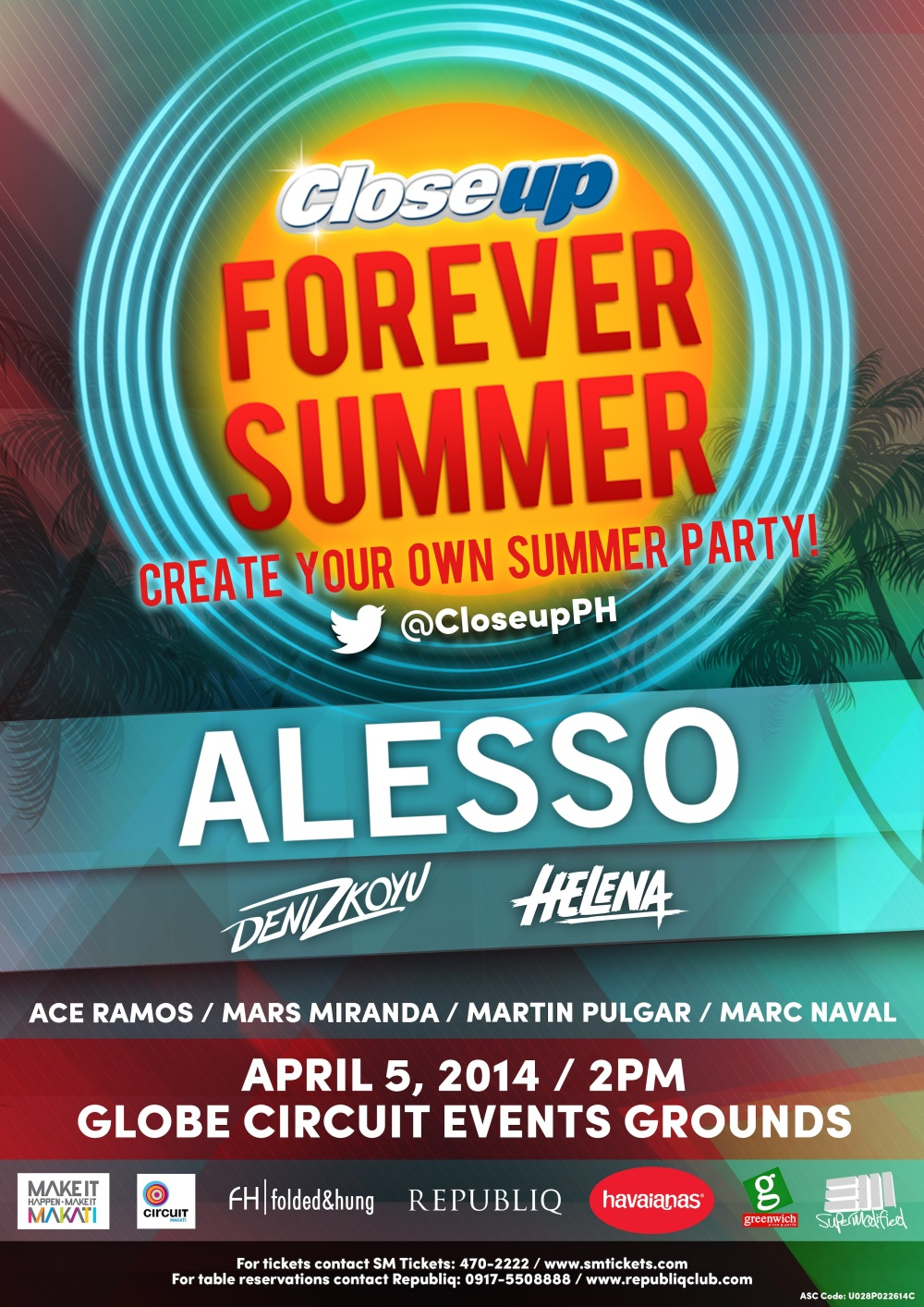 Closeup Forever Summer 2014