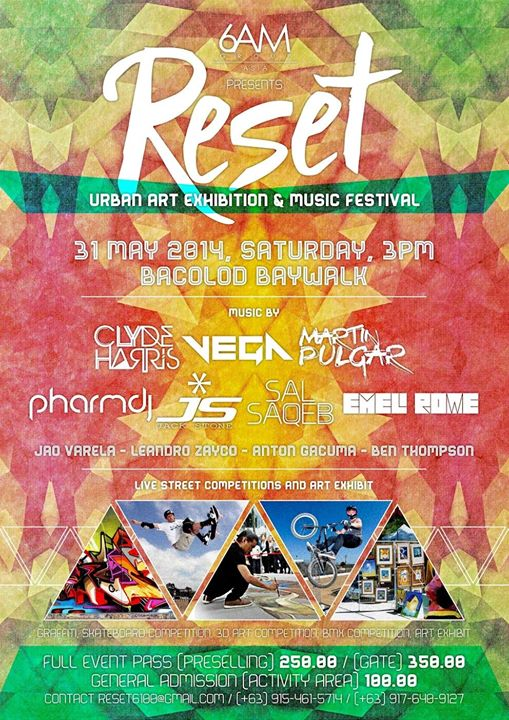 RESET 6100 Urban Art Exhibition & Music Festival