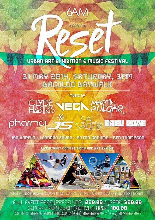 RESET 6100 Urban Art Exhibition & Music Festival