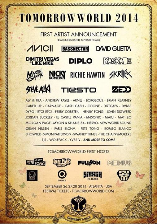 Tomorrow World 2014