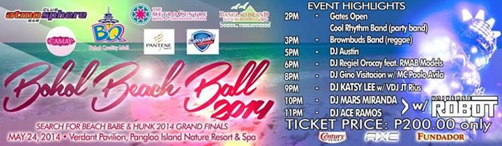 Bohol Beach Ball 2014