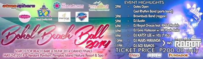 Bohol Beach Ball 2014