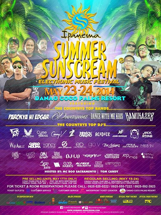 Summer Sunscream 2014 at Coco Palms Danao City