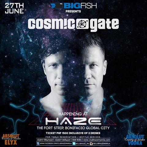 cosmic gate @ haze 2014