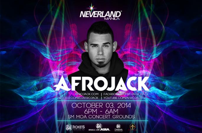 Neveland Manila 2014 Afrojack