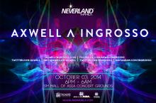 Neverland Manila 2014 Axwell ^ Ingrosso