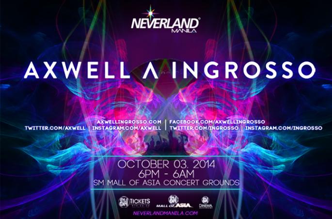 Neveland Manila 2014 Axwell ^ Ingrosso