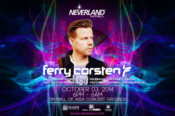 Neveland Manila 2014 Ferry Corsten