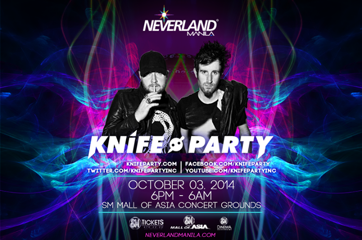 Neveland Manila 2014 Knife Party
