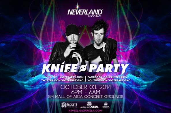 Neveland Manila 2014 Knife Party