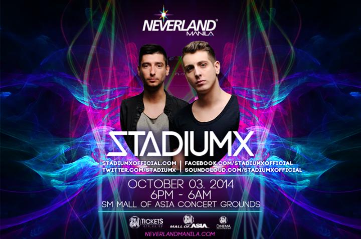 Neveland Manila 2014 StadiumX