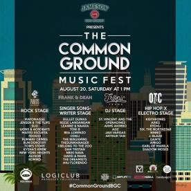 Red Ninja Production: Common Ground Music Fest #‎CommonGroundsBGC‬