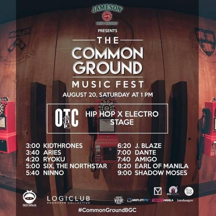 Red Ninja Production: Common Ground Music Fest #CommonGroundsBGC