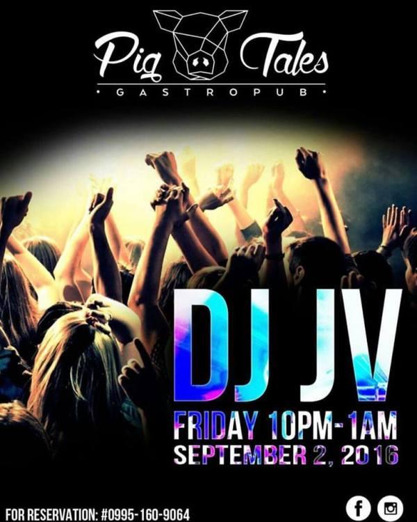 DJ JVC GIG: Pig Tales Gastropub | 9.2.2016 | San Juan City