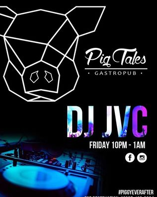 DJ JVC GIG: Pig Tales Gastropub | 9.23.2016 | San Juan City