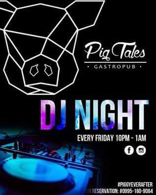 DJ JVC GIG: Pig Tales Gastropub   10.14.2016   San Juan City