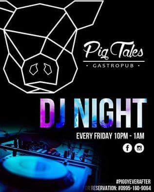 DJ JVC GIG: Pig Tales Gastropub | 10.14.2016 | San Juan City