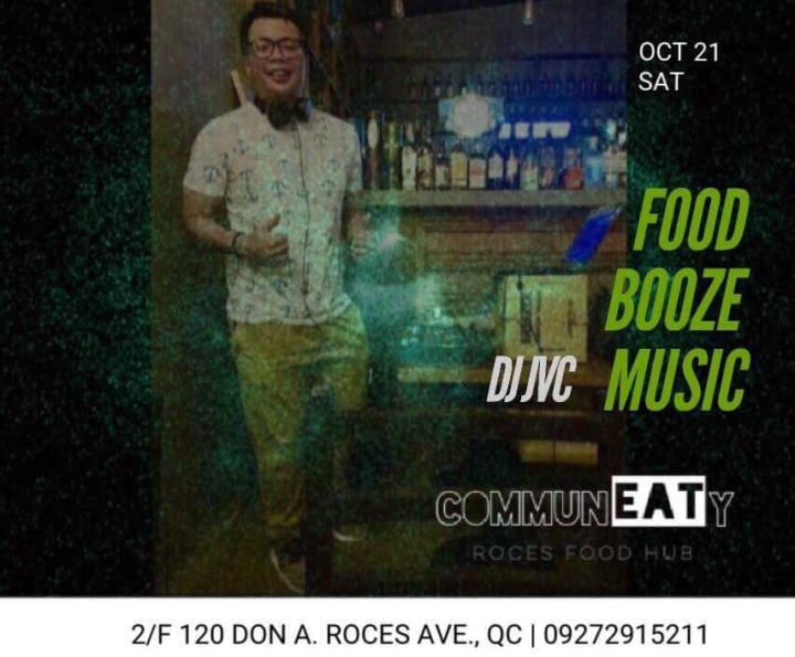 DJ JVC GIG: CommunEaty Roces Food Hub | October 21, 2017