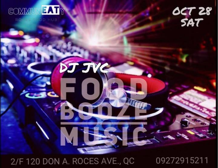 DJ JVC GIG: CommunEaty Roces Food Hub | October 28, 2017