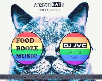 DJ JVC GIG: CommunEaty Roces Food Hub   January 13, 2018